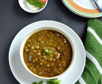Green Peas Curry/Green peas Masala- Restaurant Style