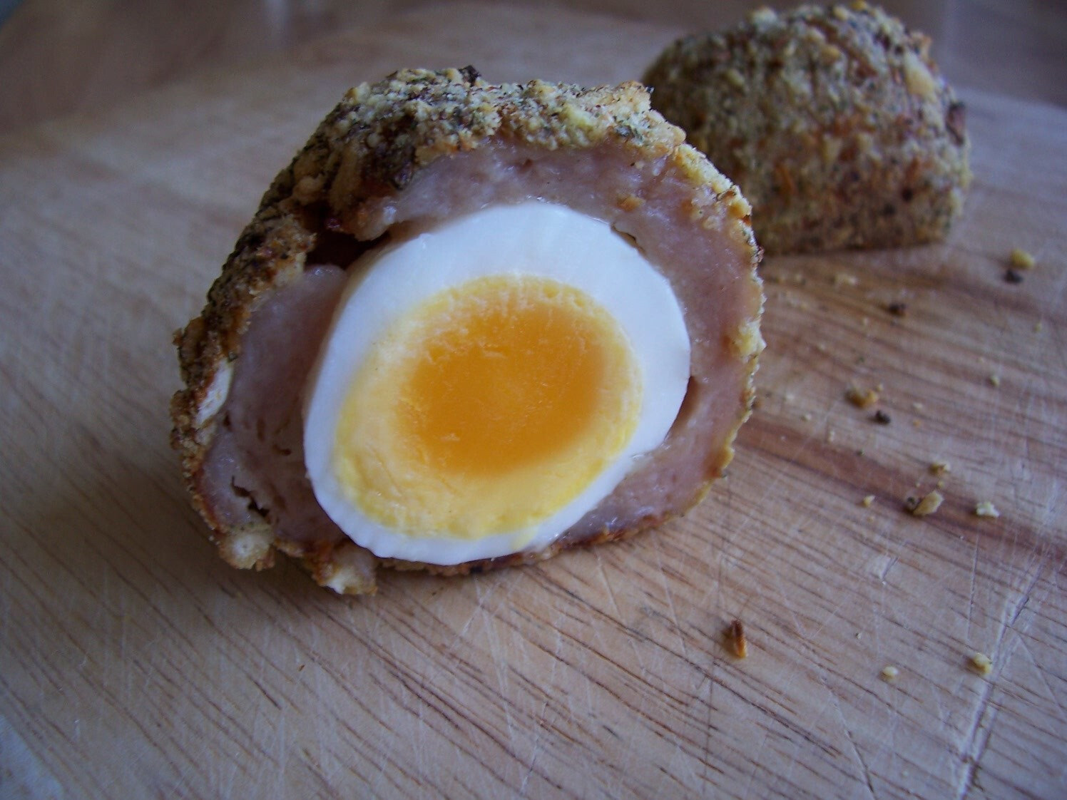 Lorraine Pascale's Oven Baked Scotch Eggs