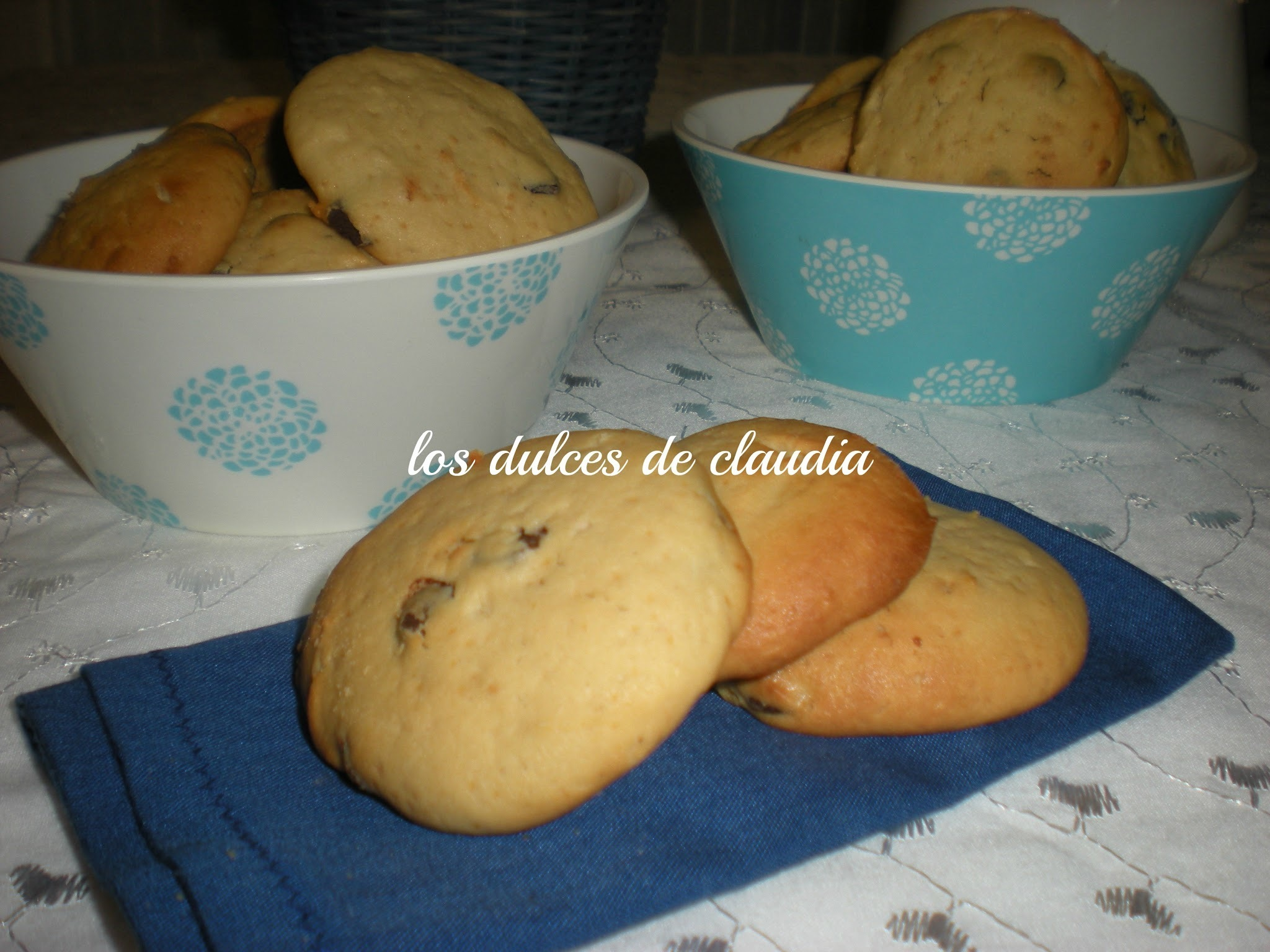 Galletas de queso crema y chocolate