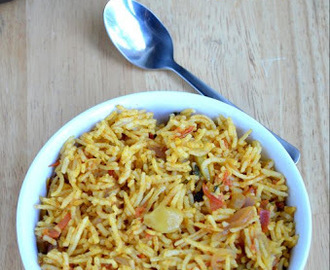Simple Tomato  Pulao/Rice