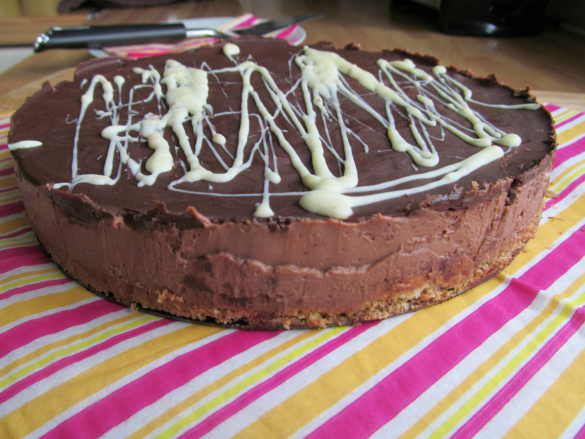 Lorraine Pascale's Chocolate Cheesecake