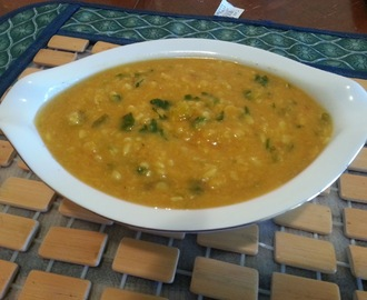 Kathiyawadi style Adad ni Dal / Split white gram lentils - World Diabetes Day