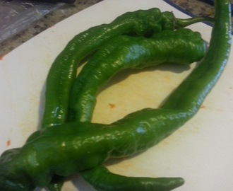 Vagharela Marcha / Instant Green Chilies Pickle