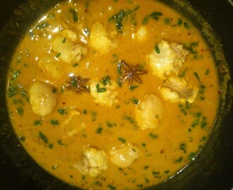 South West Indian Fish Curry