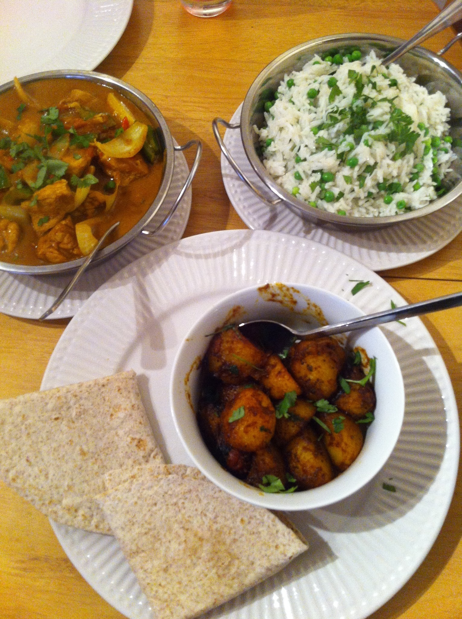 Indian food that looks and tastes great...