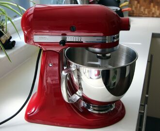 Update: Kitchenaid Artisan keukenmixer