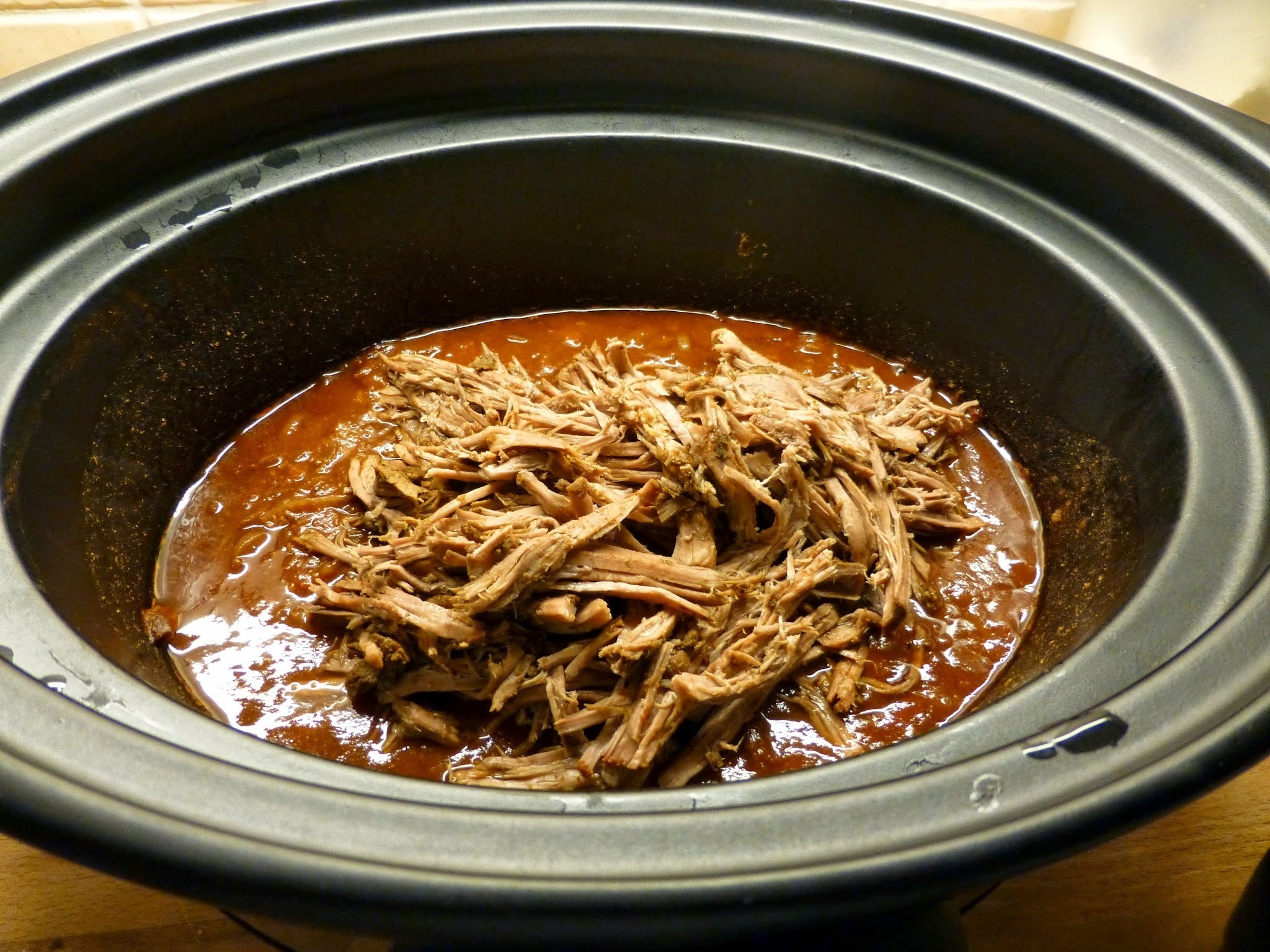Fajitas i crock pot.