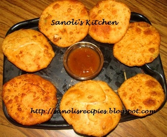 ALOO KACHORI (FRIED PATTICE WITH POTATO FILLING)
