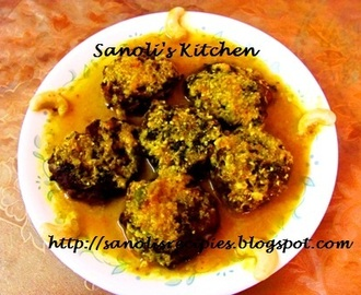 DUDHI / LAUKI (BOTTLE GOURD) KOFTA CURRY