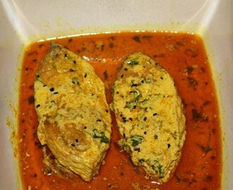 BHAPA ILLISH / STEAMED HILSA (King of Fish)
