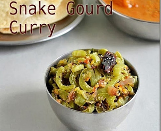 PUDALANGAI PORIYAL|SNAKE GOURD RECIPES – SIDE DISH FOR RICE