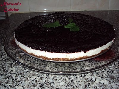 Cheesecake de Chocolate e Amora