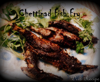 Spicy Chettinadu Fish Fry