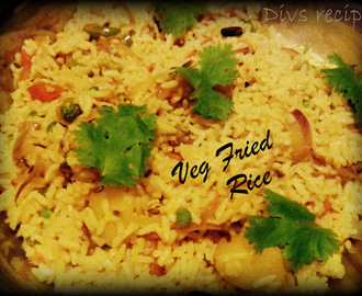 Quicky Vegetable Fried Rice