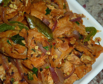 Chicken-Egg Kothu Chapathi