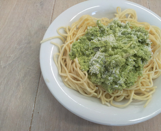 Recept: pasta met broccoli pesto