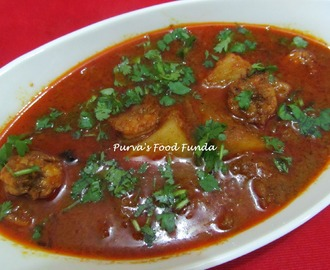 Malwani Prawns Curry