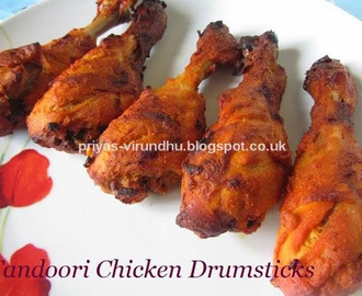 Roasted Chicken Drumsticks – Tandoori Style