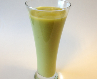 Banan og avocado smoothie