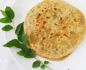 Keema Paratha / Minced Meat Stuffed Flatbread