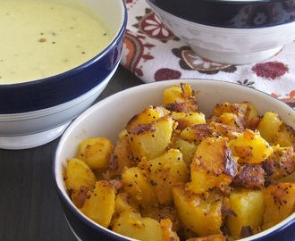 Aloo Roast | Potato Dry Curry