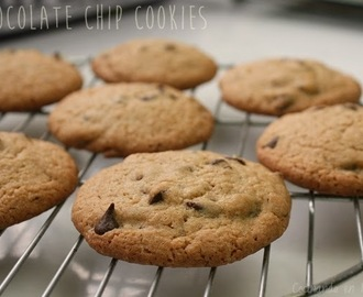 Chocolate chip cookies {galletas con gotas de chocolate} 🇺🇸