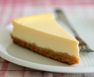 New York Cheesecake met limoen