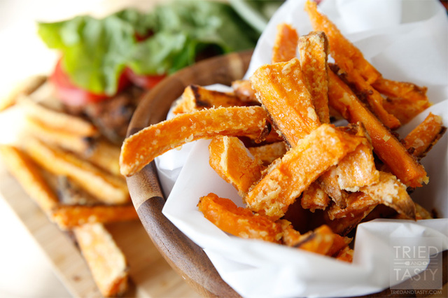 Oven-Baked Crispy Sweet Potato Fries