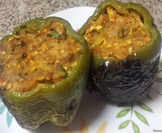 Stuffed Capsicum / Bharva Simla mirch
