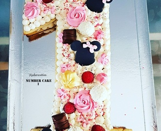 Number Cake 1