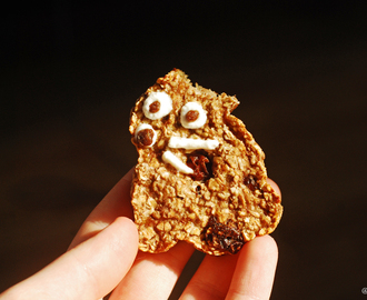 Verdens enkleste sunne frokostkjeks / The World's Easiest Healthy Breakfast Cookies