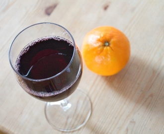 Mulled Wine and Orange Jelly