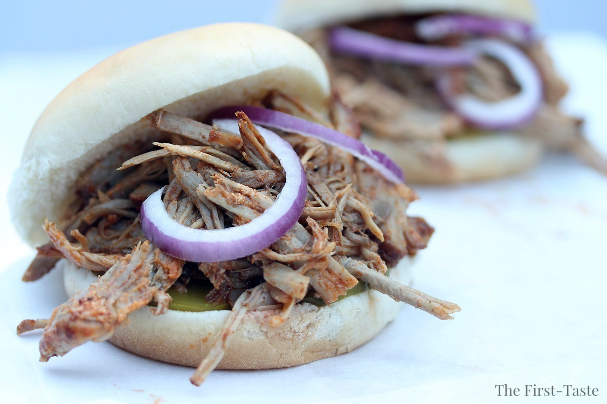 Simple Healthy Slow Cooker Pulled Pork – Soy-free!!!, The First-Taste