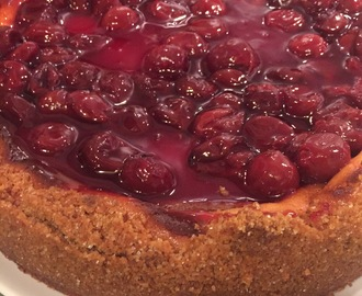 Cherry Cheesecake…