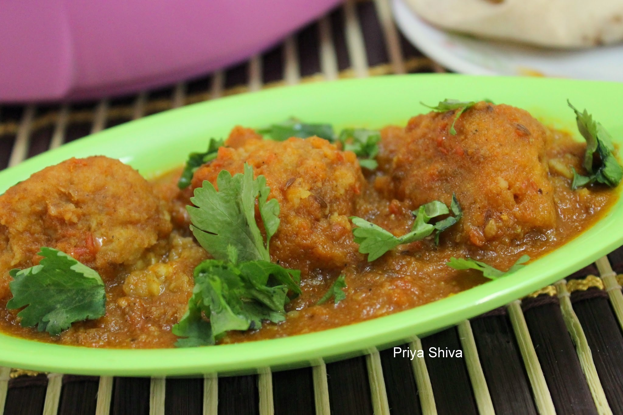 Aloo Paneer Kofta Curry
