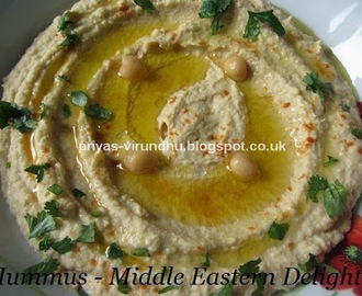 Hummus – Middle Eastern Delight