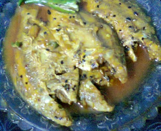 Light Gravy Of Khayra Fish / Khayra Macher Jhol