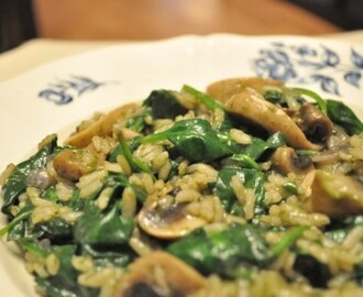 FOODIES: Pesto risotto met spinazie