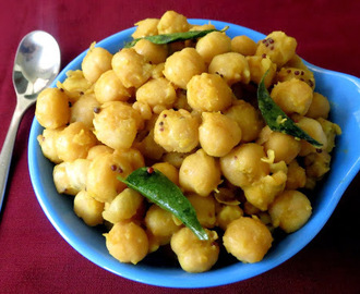 Chickpeas Sundal Recipe / Channa Sundal Recipe