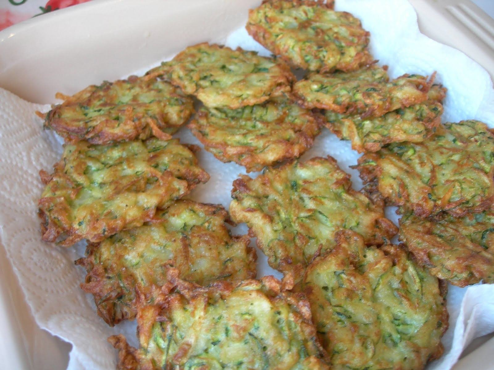 Courgette & Parmesan Fritters