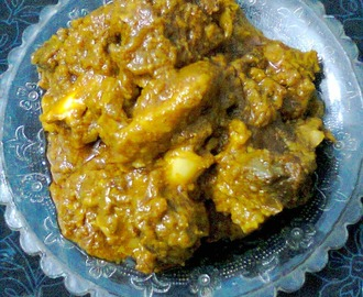Spicy Mutton Gravy/Mutton Kosha/Rich Mutton Curry
