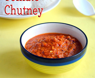 TOMATO CHUTNEY RECIPE |SIDE DISH FOR DOSA IDLI