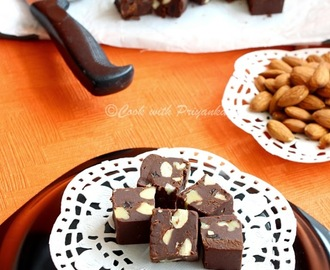 Chocolate & Nuts Fudge