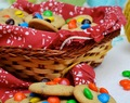 GALLETAS CON M&M´s