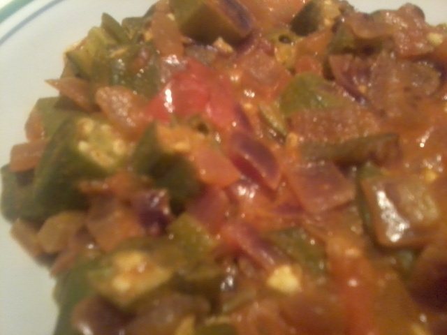 Okra/Ladies Finger Masala