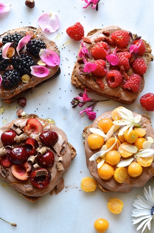 dianne wrote a new post, Chocolate yoghurt breakfast toasts, on the site bibbyskitchenat36.com