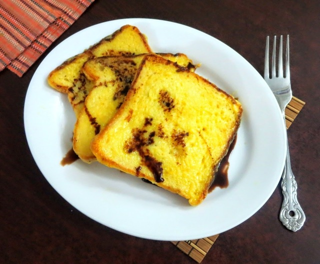 Eggless French Toast ~ Easy Breakfast / Tiffin Recipes for Kids