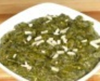 Sarson Ka Saag – Mustard Greens with Spinach