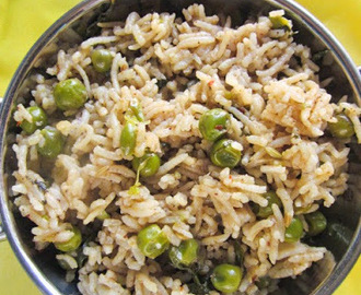 GREEN PEAS BIRYANI I EASY ONE POT MEAL RECIPES