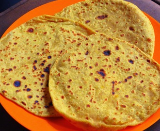 Sweet potato puran poli / holige / obbattu